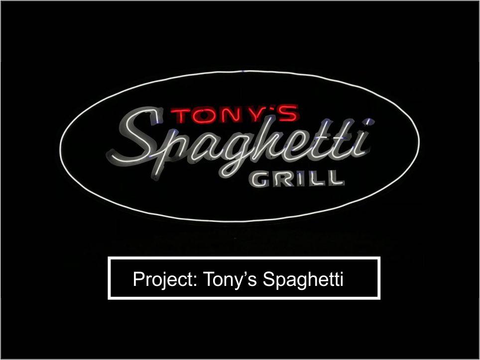 Tonys spaghetti krugersdorp
